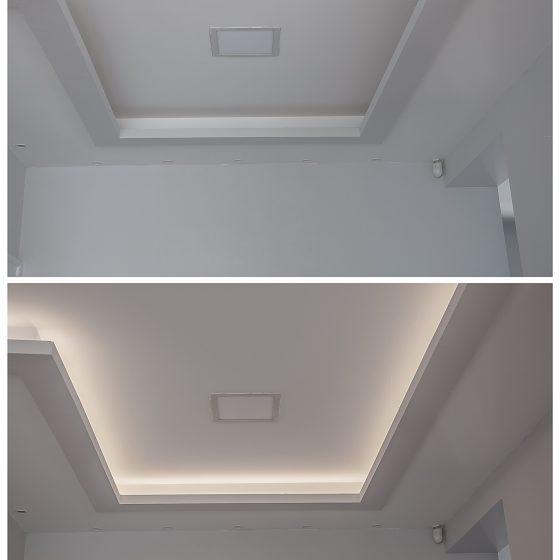 LED panel + LED szalag